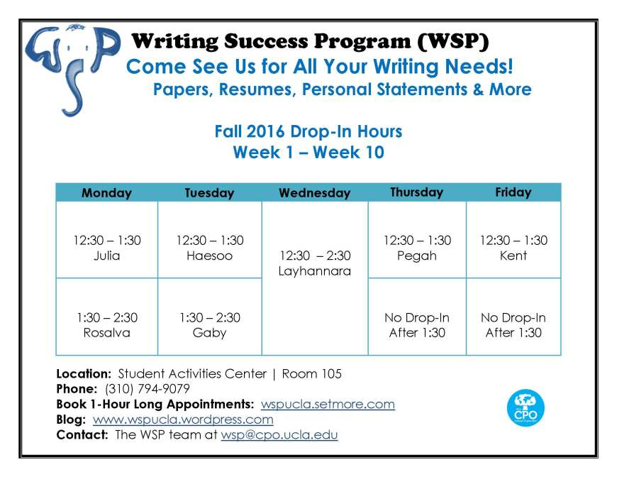 wsp-fall-2016-drop-in-hours