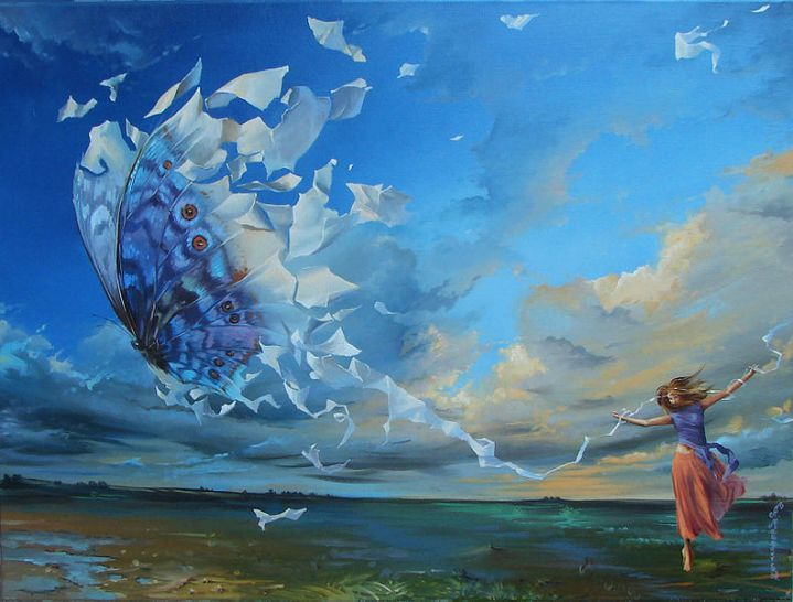 _Effect of Butterfly_ by Anastasiya Markovich