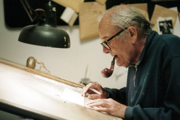 Cartoonist Paul Conrad