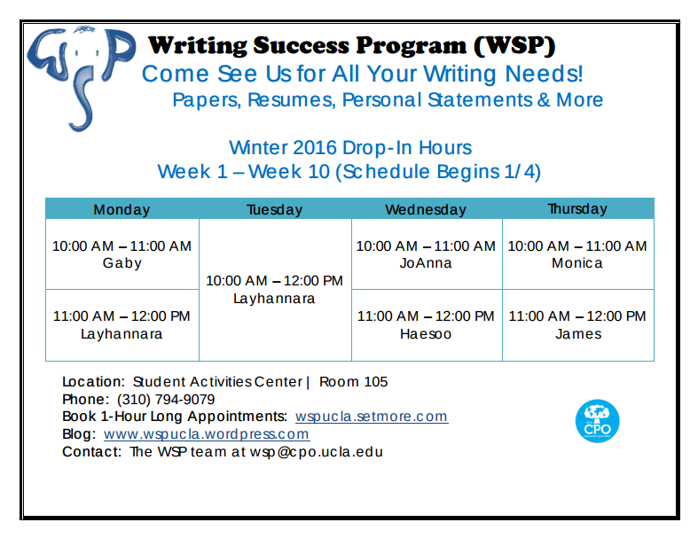 ucla writing programs The writers' program is a comprehensive university-related writing program open to the public and offering 400 annual writers studio at ucla extension 10995 le.