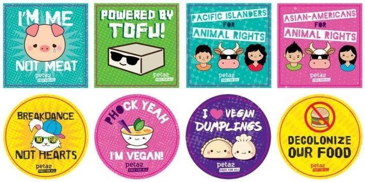Vegan icons